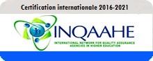 Certification 2016-2021